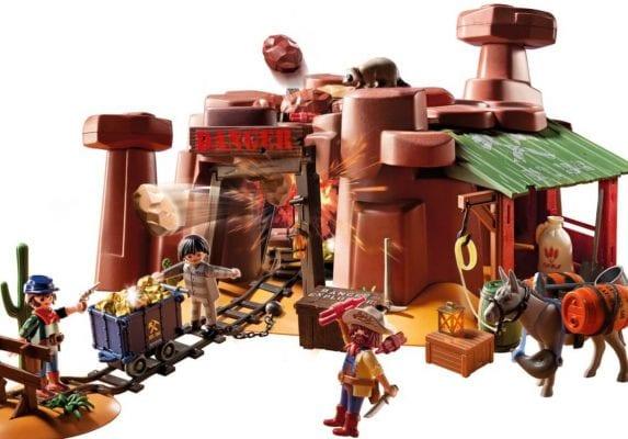 playmobil mina oeste 2 SuperChollos