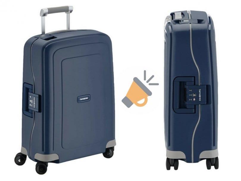 Oferta maleta de viaje Samsonite barata SuperChollos