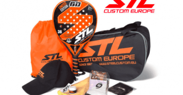 chollo pala padel Pack Steel Custom GD Limited Edition Eva Soft Plus SuperChollos