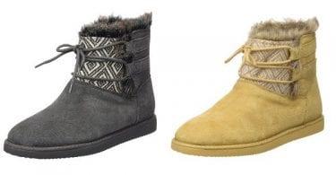 chollo botas de invierno mujer Roxy Tara baratas descuento amazon SuperChollos