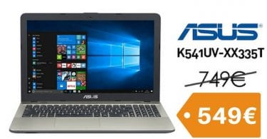 chollo ordenador portatil ASUS K541UV XX335T Intel i7 1TB 15622 barato descuento amazon SuperChollos