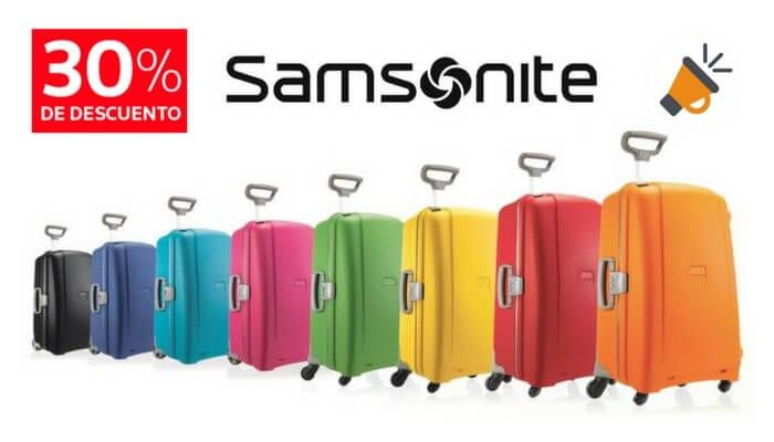 chollo maleta cabina samsonite aeris barata descuento amazon SuperChollos