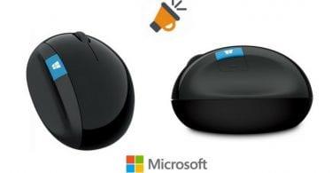raton inalambrico microsoft sculpt ergonomic barato SuperChollos