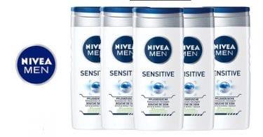 Nivea Men Sensitive barato gelesbaratas ofertas en geles chollos SuperChollos