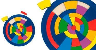 puzle madera piezas geometricas circular goki barato SuperChollos