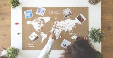 Mapa del mundo en corcho Miss Wood XL barato objetos decorativos baratos superchollo SuperChollos