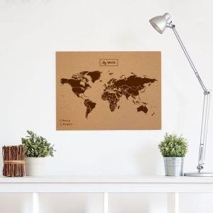 mapa del mundo de corcho Mundi L marro SuperChollos