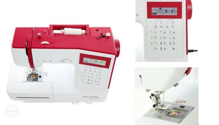 ¡OFERTÓN! Máquina de coser Bernette por sólo 299,99€ (54%