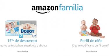 amazon familia descuentos superchollos SuperChollos