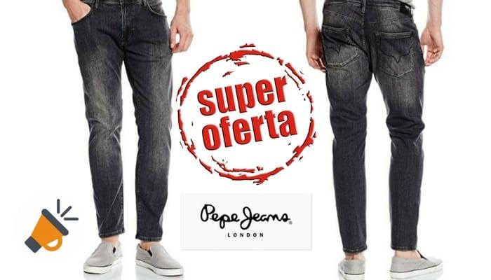 Vaqueros Pepe Jeans Stanley para hombre SuperChollos