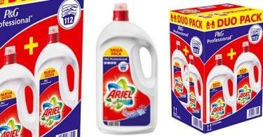 duo pack ariel basico liquido 112 lavados barato superchollos SuperChollos