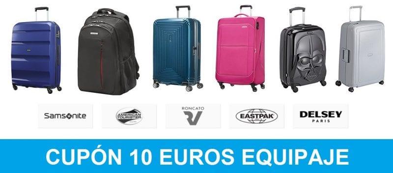 chollo amazon cupon descuento equipaje 10 euros SuperChollos
