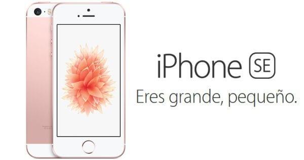 Telfono mvil libre Apple iPhone SE 16GB rosa barato ofertas en iPhone iPhone baratos superchollo SuperChollos