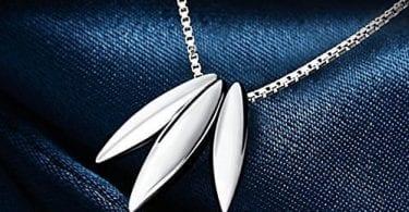 collar gota plata ley j. rosee barato descuento amazon SuperChollos