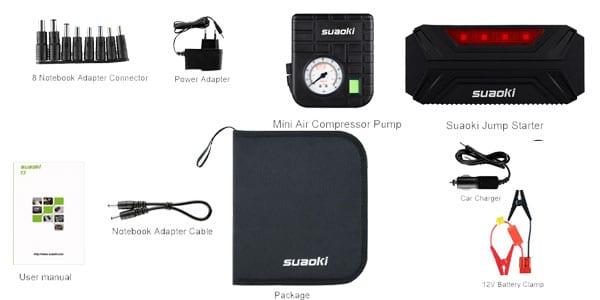 arrancador bateria suaoki t3 plus barato amazon superchollos SuperChollos