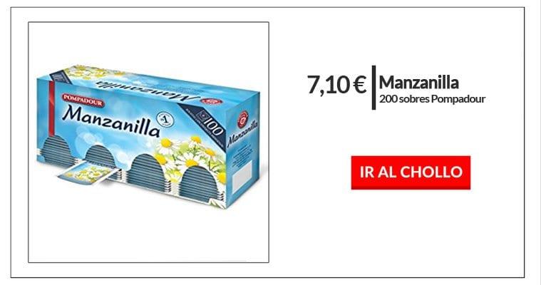 chollo manzanilla pompadour barata infusiones baratas en amazon entrada SuperChollos