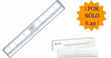 oferta barra luz led inalambrica sensor barata SuperChollos
