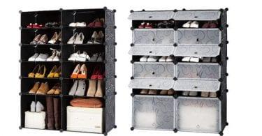 armario pongotodo modular zapatero langria diy 12 cubos chollo amazon superchollos SuperChollos