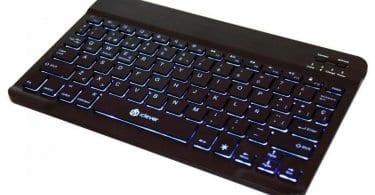 chollo oferta teclado retroiluminado iclever ic bk04 barato descuento amazon SuperChollos