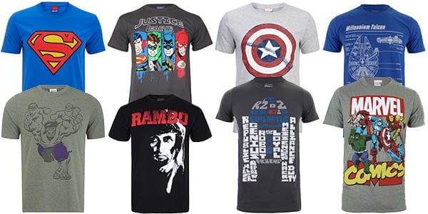 promo camisetas geek zavvi SuperChollos