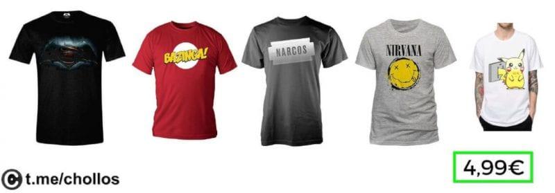Camisetas frikis SuperChollos