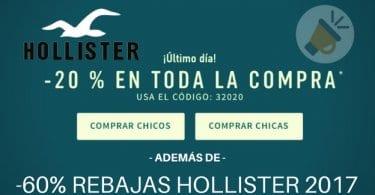 Rebajas Hollister cupo%CC%81n descuento ofertas moda ropa super chollos.com SuperChollos