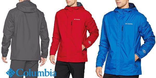 columbia pouring adventu chaqueta senderismo barata SuperChollos