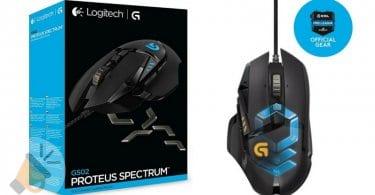 raton gaming logitech g502 proteus spectrum RGB barato SuperChollos