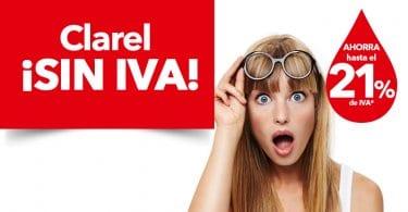 Dia sin IVA en Clarel descuentos ofertas super chollos.com SuperChollos