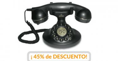 oferta telefono analogico vintage barato 2 SuperChollos
