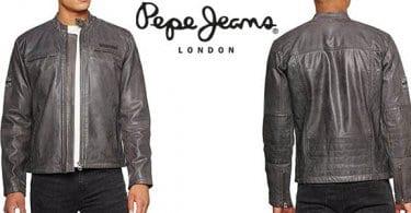 pepe jeans lennon17 cazadora cuero hombre barata SuperChollos