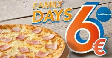 family days telepizza familiares 6 euros chollo SuperChollos