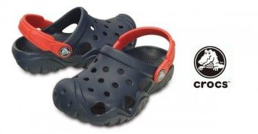 Zuecos Crocs Swiftwater para nio baratos calzado de marca barato ofertas en calzado chollo SuperChollos