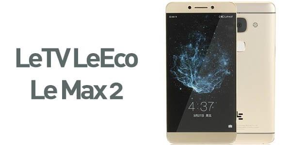 smartphone letv leeco le max 2 dorado SuperChollos