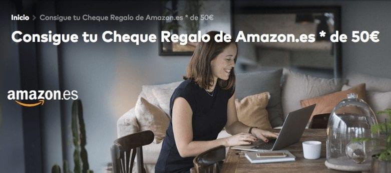 Openbank cheque regalo 50%E2%82%AC amazon promocio%CC%81n SuperChollos