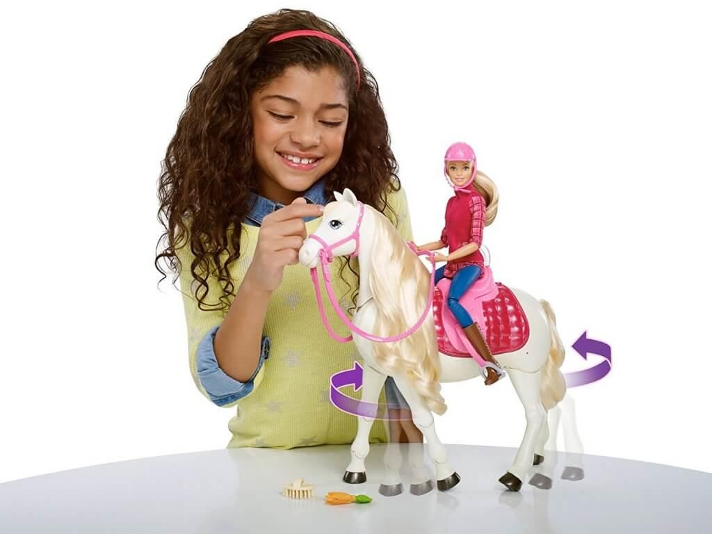 oferta juguete barbie caballo barata SuperChollos