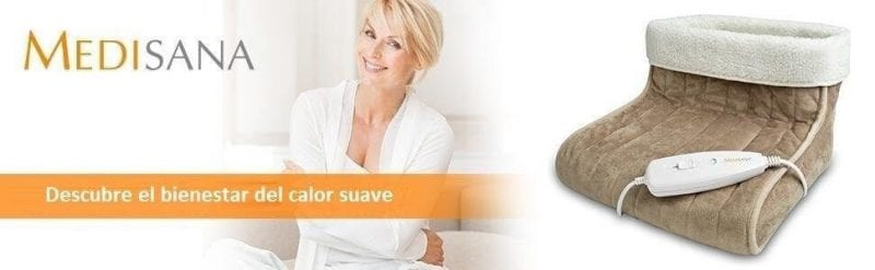 oferta manta electrica calientapies medisana barato SuperChollos