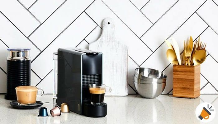 Cafetera Krups Nespresso Essenza Mini Piano por 69 euros SuperChollos