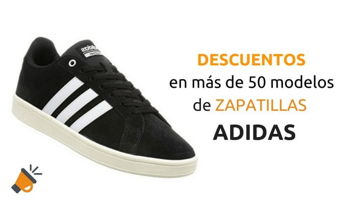 mareado pecado progenie  SÓLO HOY! Descuentos en + de 50 modelos de zapatillas ADIDAS