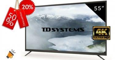 Televisor LED TD Systems K55DLM7U SuperChollos