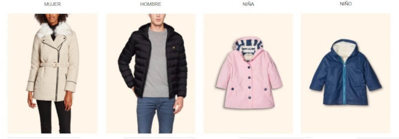oferta rebajas amazon moda mujer hombre ni%C3%B1o black friday ropa barata SuperChollos