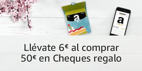 cheque regalo amazon gratis SuperChollos
