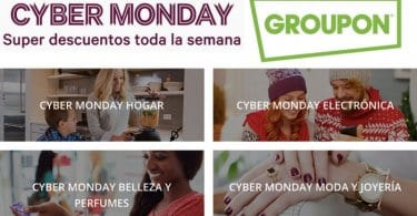 cyber monday groupon SuperChollos