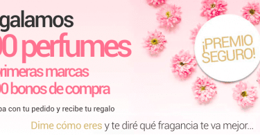 Sorteo VENCA perfumes diciembre 2017 SuperChollos