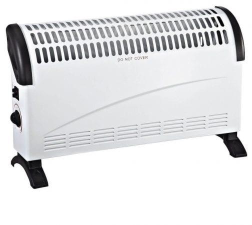 OFERTA! Calefactor eléctrico de convección 1500W por solo 23,99€