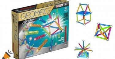 oferta juego construccion geomag color glitter barato SuperChollos