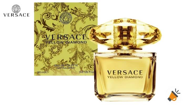 Eau de toilette Versace Yellow Diamond SuperChollos