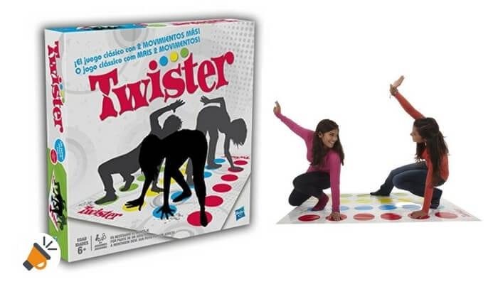 oferta juego twistter hasbro gaming barato SuperChollos