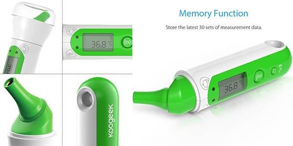 termometro koogeek precision digital app movil facil rapido utilizar SuperChollos