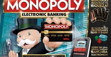 MONOPOLY ELECTRONIC BANKING OFERTA AMAZON CHOLLO SuperChollos